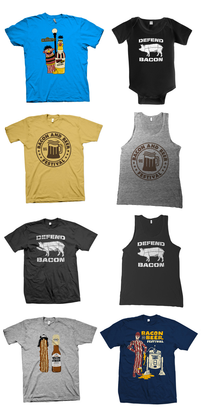 New Bacon and Beer Merch