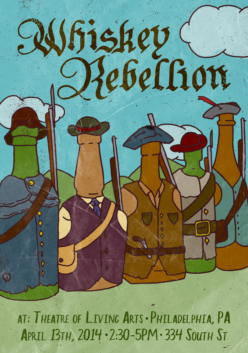 the whiskey rebellion When president george washington ordered an army of 13,000 men to march west in 1794 to crush a tax rebellion among frontier farmers, he established a range of.